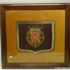Militaria: ANTIGUO CUADRO DE BANDERIN MILITAR. Lote 191378982
