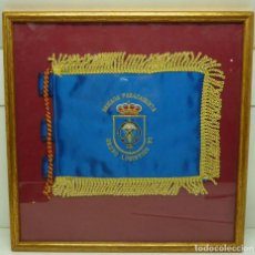 Militaria: ANTIGUO CUADRO DE BANDERIN MILITAR. Lote 191379086
