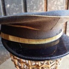 Militaria: GORRA DE PLATO CIVIL, GRIS. Lote 191435331