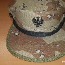 Militaria: EJÉRCITO ESPAÑOL. GORRA ÁRIDA A ESTRENAR. Lote 191435507
