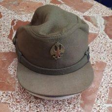 Militaria: GORRA MONTAÑERA KAKI, EJERCITO DE TIERRA, AÑOS 80 . Lote 191687421