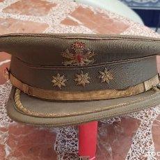 Militaria: GORRA DE PLATO KAKI, EMPLEO CORONEL, EJERCITO DE TIERRA, AÑOS 80. Lote 191689037