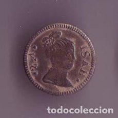 Militaria: BOTON REINA ISABEL II DE ESPAÑA. Lote 191826605