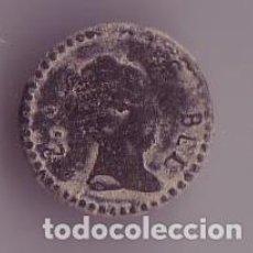 Militaria: BOTON REINA ISABEL II DE ESPAÑA. Lote 191826646