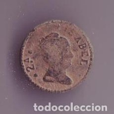 Militaria: BOTON REINA ISABEL II DE ESPAÑA. Lote 191826667