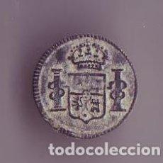 Militaria: BOTON ESCUDO PATRIOTICO FERNANDO VII . Lote 191826977