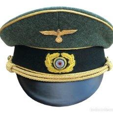 Militaria: GORRA GENERAL DEL HEER WEHRMACHT PARTIDO NAZI TERCER REICH ALEMANIA GRAN CALIDAD - REPRODUCCIÓN. Lote 191965407