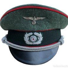 Militaria: GORRA OFICIAL ARTILLERIA WEHRMACHT PARTIDO NAZI TERCER REICH ALEMANIA GRAN CALIDAD - REPRODUCCIÓN. Lote 191965942