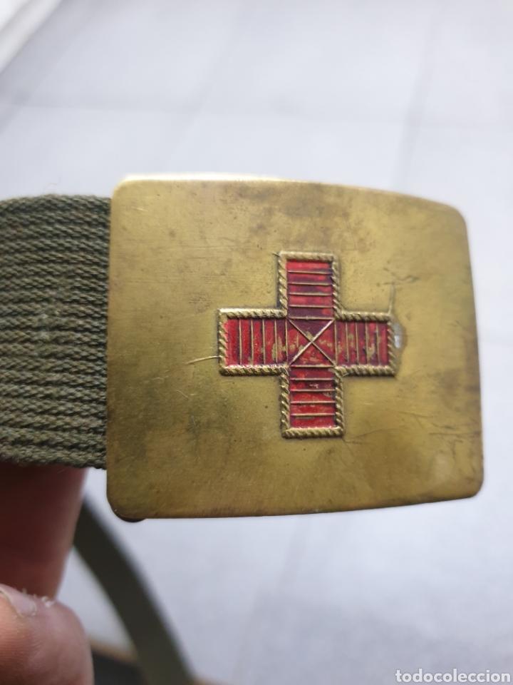 CINTURON DE MEDICO RARO (Militar - Cinturones y Hebillas )