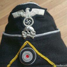 Militaria: GORRO SCHIFFEN OFICIAL PANZER CABALLERIA WEHRMACHT. Lote 192150327