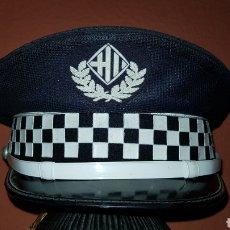 Militaria: ANTIGUA GORRA DE PLATO POLICÍA LOCAL. Lote 192851496