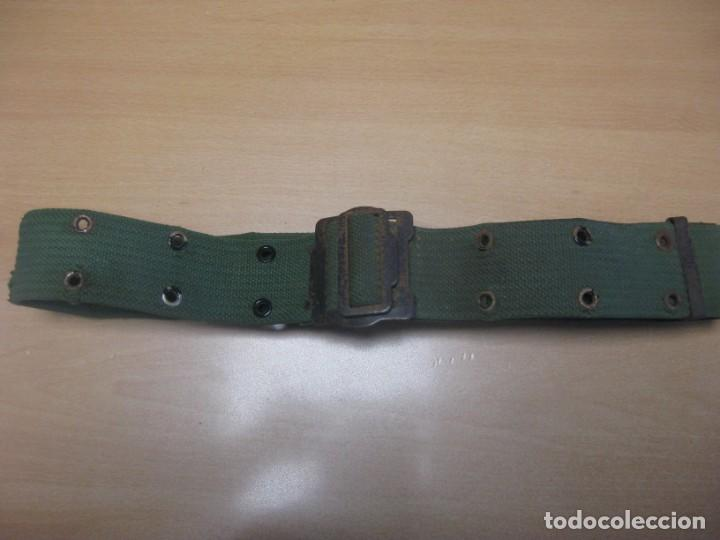 Militaria: Bota paracaidista (BRIPAC) Años 80. Talla 42. Señales de uso.Obsequio: Ceñidor verde sarga Legión - Foto 7 - 193087940