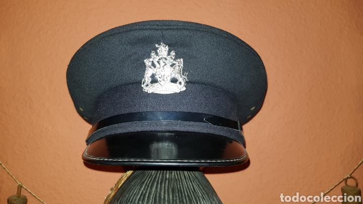 ANTIGUA GORRA DE PLATO BRITISH ARMY UK BRIGADE OF GUARDS AUXILIO DIVINO CAP (Militar - Boinas y Gorras )