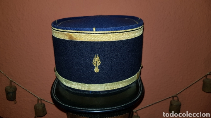 Militaria: GORRO KEPI GENDARMERIA FRANCESA GIJOE SURPLUS GENDARME FRANCES - Foto 2 - 193661530