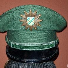 Militaria: ANTIGUA GORRA DE PLATO MILITARIA EN EXCELENTE ESTADO. Lote 193661657