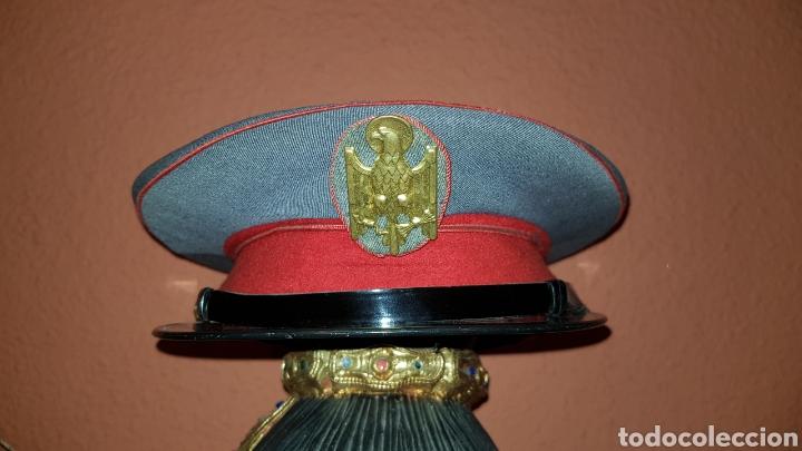 ANTIGUA GORRA DE PLATO POLICIA ARMADA GRISES (Militar - Boinas y Gorras )