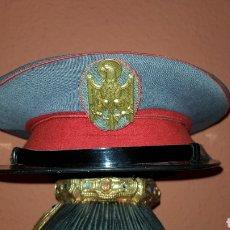 Militaria: ANTIGUA GORRA DE PLATO POLICIA ARMADA GRISES. Lote 193661782