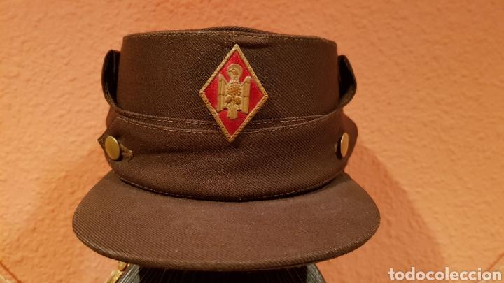Militaria: ANTIGUA GORRA CON ROMBO DE POLICÍA ARMADA - Foto 2 - 193661900