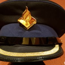 Militaria: GORRA DE PLATO POLICIAL DE COLECCIÓN EN EXCELENTE ESTADO. Lote 193664840