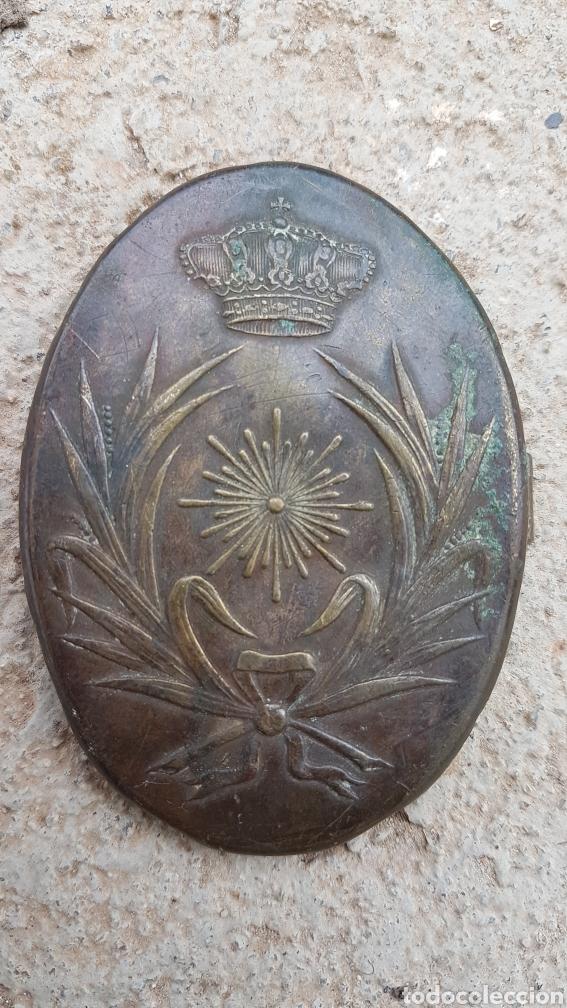 HEBILLA INTENDENCIA EPOCA ALFONSINA (Militar - Cinturones y Hebillas )