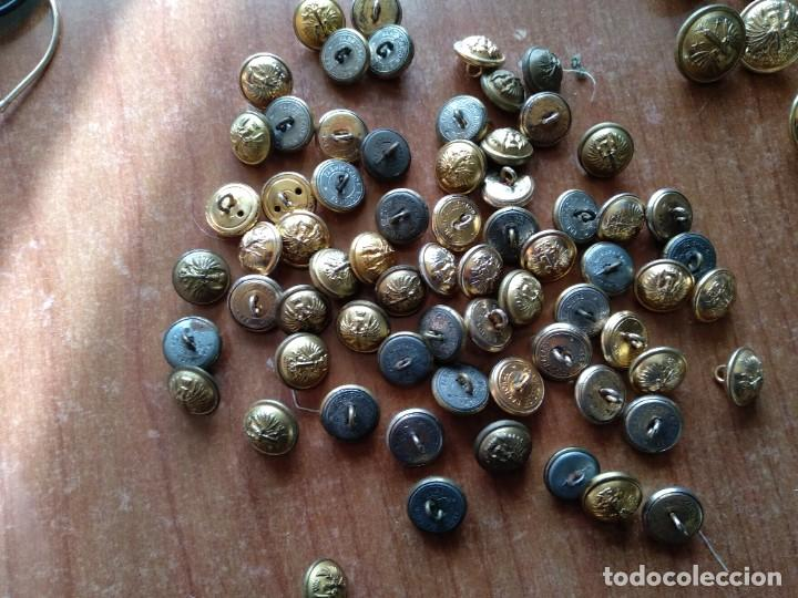 Militaria: Botones ejercito de tierra epoca Franco - Foto 4 - 194194545