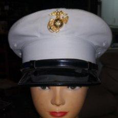 Militaria: USMC. US MARINES. GORRA DE PLATO DE SUBOFICIAL.. Lote 194238096