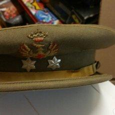 Militaria: GORRA DE TENIENTE EJÉRCITO ESPAÑOL. Lote 194249793