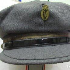 Militaria: OBRAS PUBLICAS ANTIGUA GORRA DE CAPATAZ. MUY BUEN ESTADO. Lote 194252707