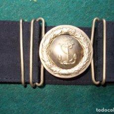 Militaria: CINTURÓN DE GALA DE LA MARINA ARMADA COMPLETO. Lote 194271241