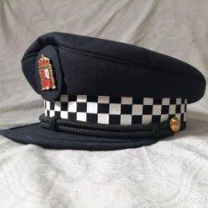 Militaria: GORRA DE POLICIA LOCAL ANDALUCIA TALLA 58 MODELO ACTUAL LOTE 1. Lote 194299217