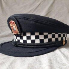 Militaria: GORRA DE POLICIA LOCAL ANDALUCIA TALLA 58 MODELO ACTUAL LOTE 2. Lote 194299277