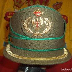 Militaria: GORRA DE OFICIAL TROPAS DE MONTAÑA TALLA 55. Lote 194312983