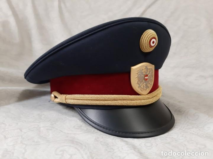 GORRA DE COMISARIO DE LA POLICÍA FEDERAL DE AUSTRIA TALLA 59 (Militar - Boinas y Gorras )