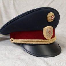 Militaria: GORRA DE COMISARIO DE LA POLICÍA FEDERAL DE AUSTRIA TALLA 59. Lote 194313107