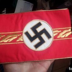 Militaria: BRAZALETE NAZI REPRODUCCION PARA RECREACIONES PELICULAS DE OFICIAL O DIPLOMATICO. Lote 194316548