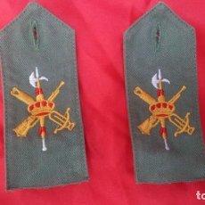 Militaria: LEGION ESPAÑOLA HOMBRERAS BORDADAS. Lote 194335278