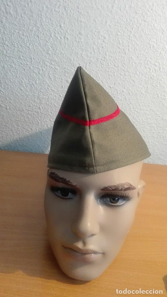 GORRILLO INFANTERIA REPUBLICANA PARA RECREACION HISTORICA. GUERRA CIVIL. (Militar - Boinas y Gorras )