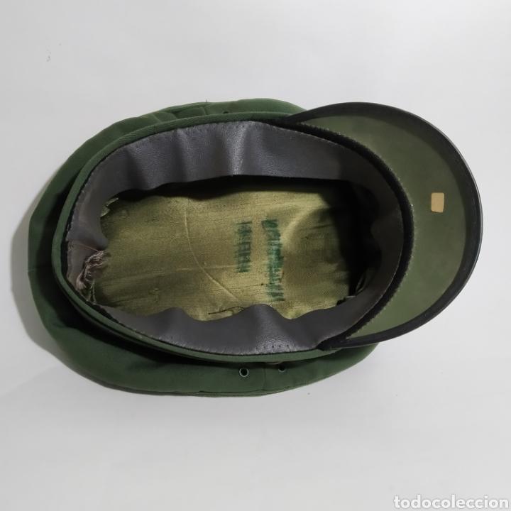 Militaria: Gorra de plato de policía de Baviera, Alemania, años 80 y 90 - Foto 4 - 194491393