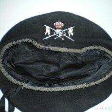 Militaria: BOINA REGIMIENTO LUSITANIA, CABALLERIA, CARROS DE COMBATE. Lote 194495095