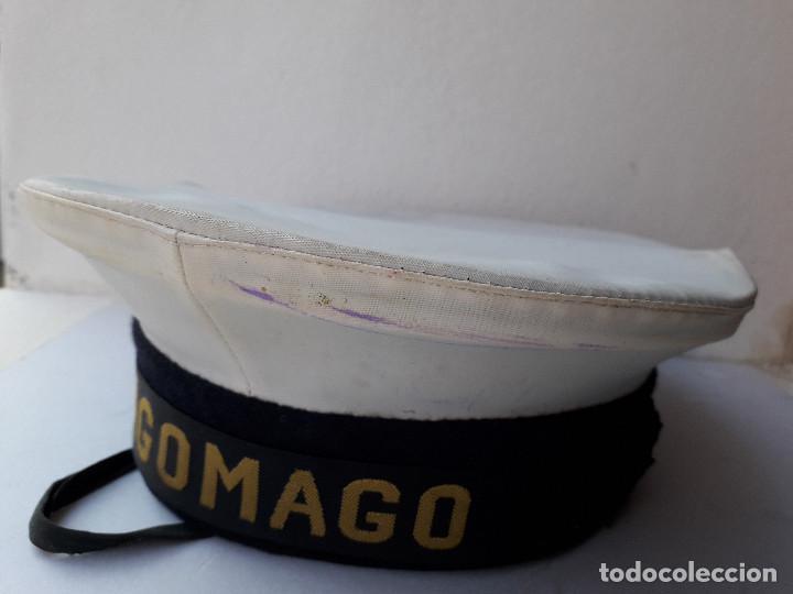 GORRA DE PLATO NAVAL / MARINA CON CINTA LEPANTO TAGOMAGO (Militar - Boinas y Gorras )