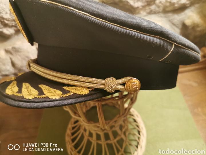 Militaria: Gorra de comisario del Cuerpo Nacional de Policía - Foto 2 - 194625628