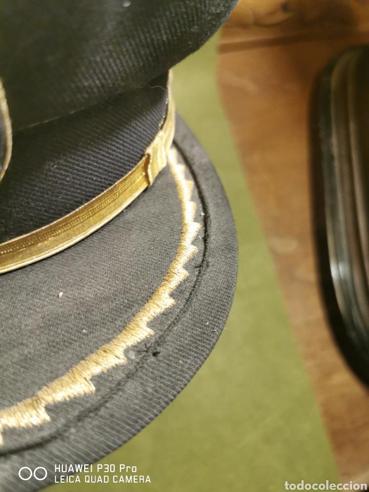 Militaria: Gorra de plato de mando de policía local o municipal - Foto 2 - 194626826