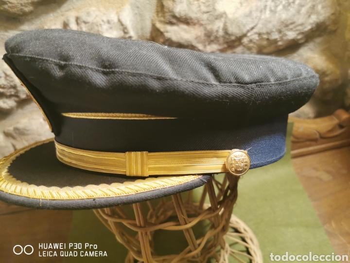 Militaria: Gorra de mando de la Policía Municipal local - Foto 3 - 194627497