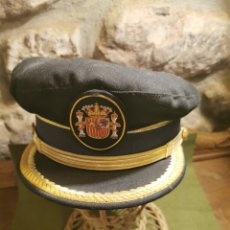 Militaria: GORRA DE MANDO DE LA POLICÍA MUNICIPAL LOCAL. Lote 194627497