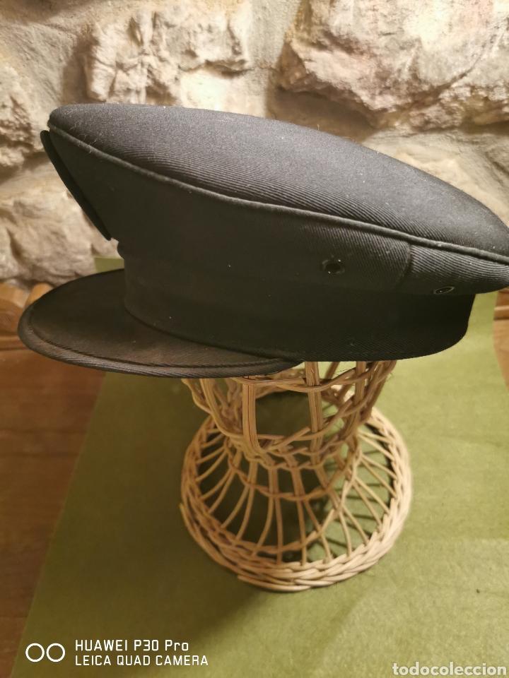 Militaria: gorra de plato Policía Nacional - Foto 2 - 194627810
