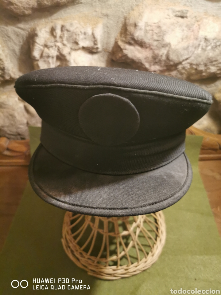 GORRA DE PLATO POLICÍA NACIONAL (Militar - Boinas y Gorras )