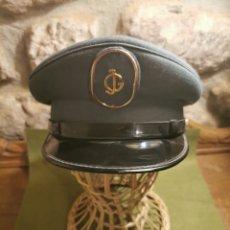 Militaria: GORRA DE PLATO DE LA ACADEMIA COLEGIO DE GUARDIAS JÓVENES DE LA GUARDIA CIVIL VALDEMORO. Lote 194628002