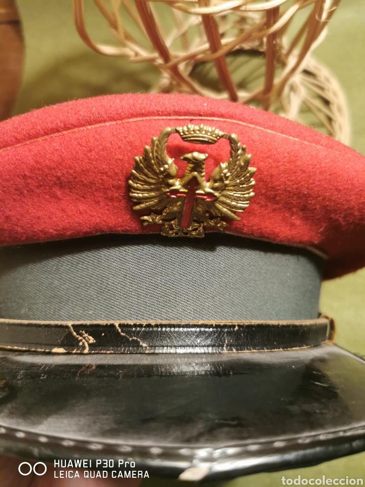 Militaria: gorra de plato de conductor de la Guardia Civil - Foto 3 - 194628721