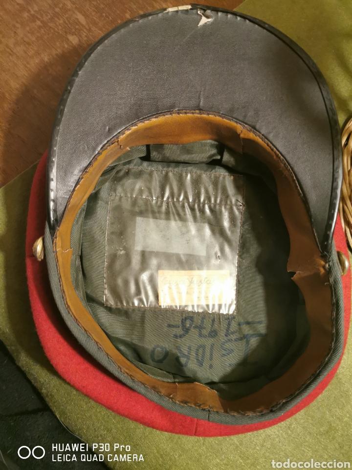 Militaria: gorra de plato de conductor de la Guardia Civil - Foto 5 - 194628721