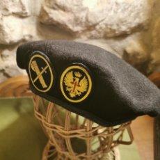 Militaria: BOINA NEGRA GRS DE LA GUARDIA CIVIL. Lote 194629438